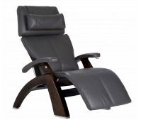 Human Touch Zero-Gravity Walnut Manual Recliner